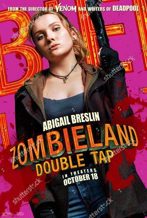 Zombieland: Double Tap (2019) Poster Art. Abigail Breslin as Little Rock