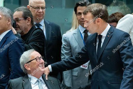 Jean-Claude Juncker, Emmanuel Macron