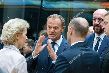 Ursula von der Leyen, Donald Tusk, Charles Michel