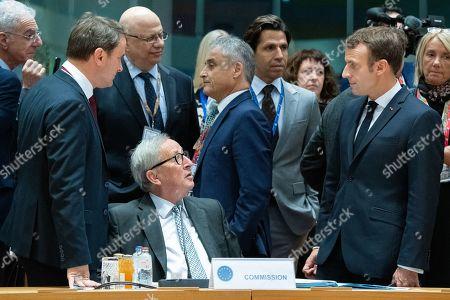 Editorial picture of EU Summit, Brussels, Belgium - 18 Oct 2019
