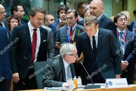 Editorial image of EU Summit, Brussels, Belgium - 18 Oct 2019