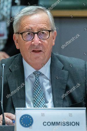 Editorial photo of EU Summit, Brussels, Belgium - 18 Oct 2019