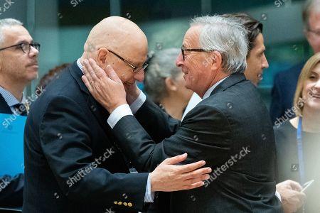 Joseph Muscat, Jean-Claude Juncker