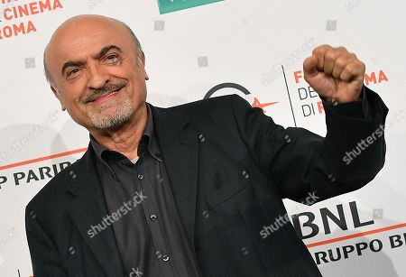 Ivano Marescotti poses during the photocall for 'Bar Giuseppe' at the 14th annual Rome Film Festival, in Rome, Italy, 18 October 2019. The film festival runs from 17 to 27 October.