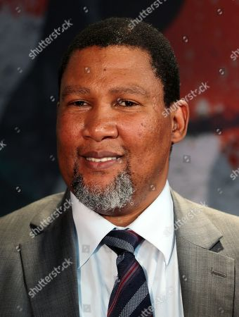 Stock Picture of The grandson of Nelson Mandela, Nkosi Zwelivelile Mandela ('Chief Mandela') attends the opening of the exhibition MANDELA: THE OFFICIAL EXHIBITION in Berlin, Germany, 18 October 2019. The exposition is a new global touring exhibition that shows Mandela's life from his struggles as a freedom fighter to that of a political leader.