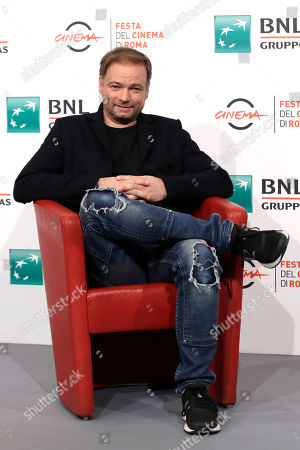 """Director Andre Ovredal poses during the photo call of the movie """"Scary Stories to Tell in the Dark"""", at the 14th edition of the Rome Film Festival"""