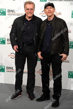 Ron Howard and Nigel Sinclair