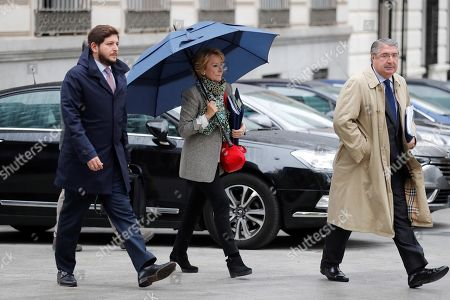 Editorial photo of Esperanza Aguirre declares as investigated in the 'Punica' case, Madrid, Spain - 18 Oct 2019