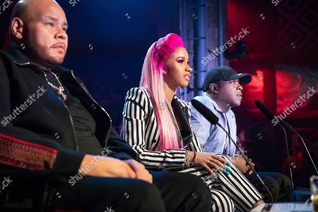 Stock Photo of Fat Joe, Cardi B and Jadakiss