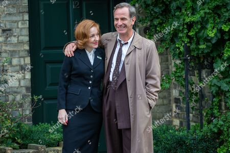 Robson Green and Kacey Ainsworth