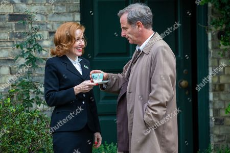 Stock Picture of Robson Green and Kacey Ainsworth