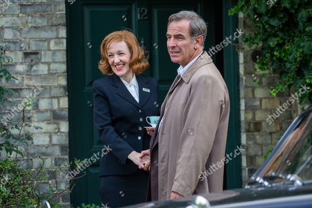 Editorial picture of 'Granchester' TV show on set filming, Cambridge, Cambridgeshire, UK - 16 Oct 2019