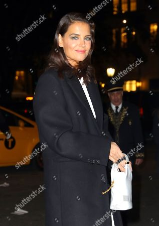 Editorial picture of Katie Holmes out and about, New York, USA - 17 Oct 2019