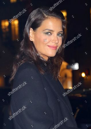 Editorial image of Katie Holmes out and about, New York, USA - 17 Oct 2019