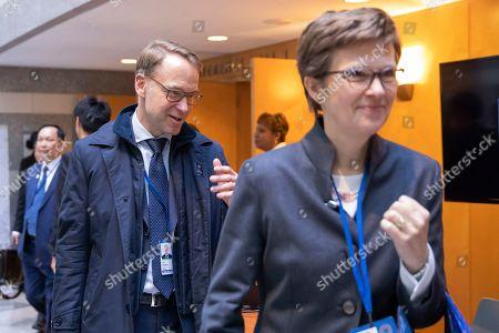 Editorial image of IMF World Bank Annual Meetings, Washington, USA - 18 Oct 2019