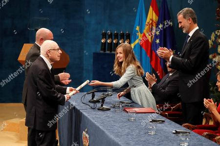 Editorial picture of Princess of Asturias Awards ceremony, Oviedo, Spain - 18 Oct 2019