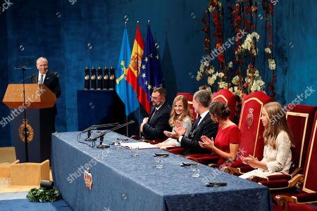 Editorial image of Princess of Asturias Awards ceremony, Oviedo, Spain - 18 Oct 2019