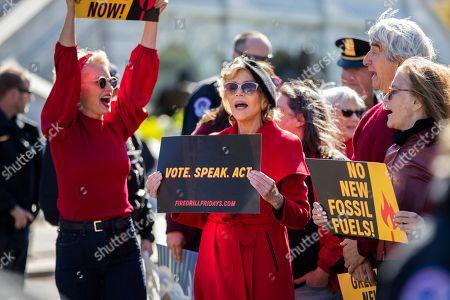 Editorial image of Climate Protest Fonda, Washington, USA - 18 Oct 2019