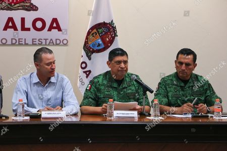 Editorial picture of Army of Mexico recognizes operation against Chapo's son done in 'haste', Culiac? - 18 Oct 2019