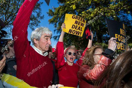Editorial photo of Climate Protest, Washington, USA - 18 Oct 2019