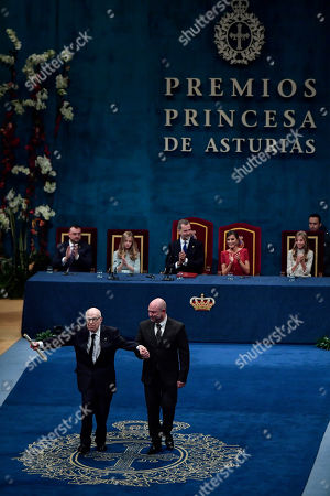 Editorial image of Princess of Asturias, Oviedo, Spain - 18 Oct 2019
