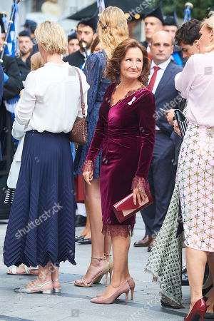 Editorial photo of Princess of Asturias Awards, Arrivals, Oviedo, Spain - 18 Oct 2019