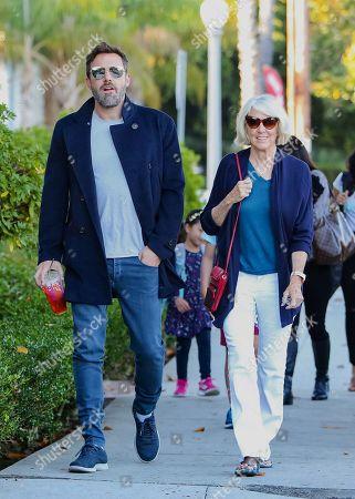 Ben Affleck and his mother, Christine Anne Boldt