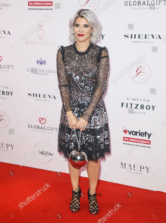 Editorial picture of The Global Gift Gala, London, UK - 17 Oct 2019