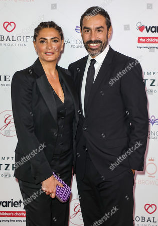 Stock Picture of Jessica Lemarie-Pires and Robert Pires