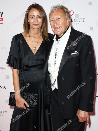 Caroline Rush and Harold Tillman