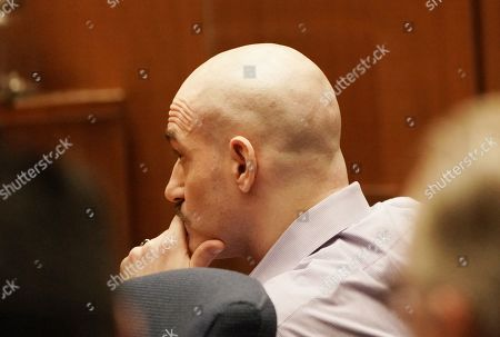 Michael Gargiulo sits during the penalty phase of his capital murder trial in Los Angeles Superior Court in Los Angeles, California, USA 18 October 2019. Jurors recommended a death sentence for Michael Gargiulo, also called the 'Hollywood Ripper', who was found guilty on all counts and two first degree murders.