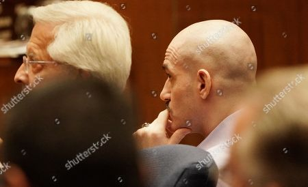 Stock Picture of Michael Gargiulo sits during the penalty phase of his capital murder trial in Los Angeles Superior Court in Los Angeles, California, USA 18 October 2019. Jurors recommended a death sentence for Michael Gargiulo, also called the 'Hollywood Ripper', who was found guilty on all counts and two first degree murders.