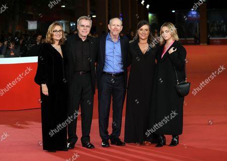 Nicoletta Mantovani, Nigel Sinclair, Ron Howard, Giuliana Pavarotti and Caterina Lo Sasso