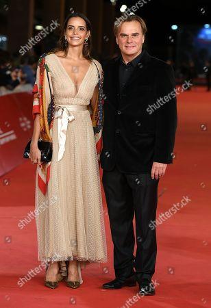 Andrea Griminelli and his wife Rossana Redondo