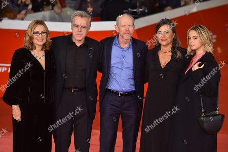 Nicoletta Mantovani, Nigel Sinclair, Ron Howard, Giuliana Pavarotti, Caterina Lo Sasso