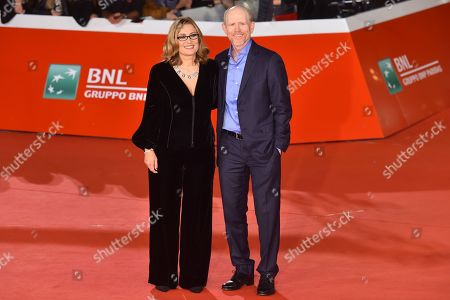 Nicoletta Mantovani and Ron Howard
