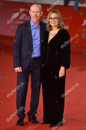 Ron Howard and Nicoletta Mantovani