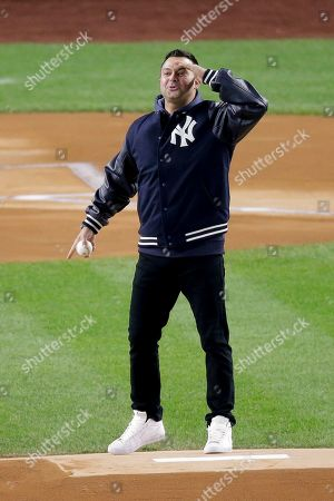 Editorial image of ALCS Astros Yankees Baseball, New York, USA - 18 Oct 2019