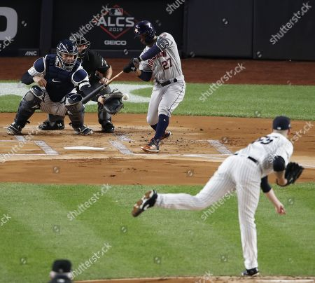 Editorial image of Houston Astros at New York Yankees, USA - 18 Oct 2019