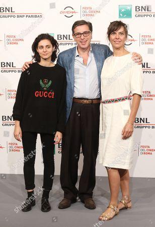 Nahema Ricci, Antonio Monda and Sophie Deraspe