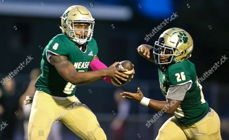 Editorial photo of St. Augustine vs Nease  HS Football, Ponte Vedra, USA - 18 Oct 2019