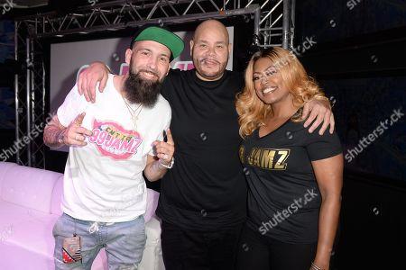DJ Entice, Fat Joe and Supa Cindy