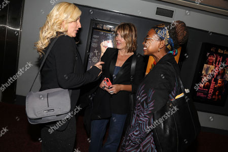 Barbara Miller (Writer, Director), Leyla Hussein and Kathleen Landy (Feminist Press)
