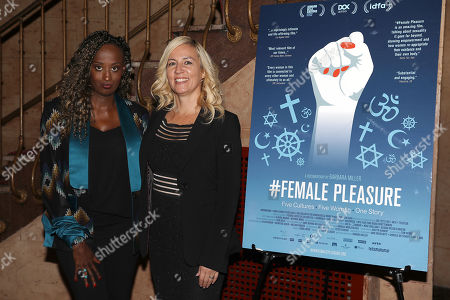 Leyla Hussein and Barbara Miller (Director)