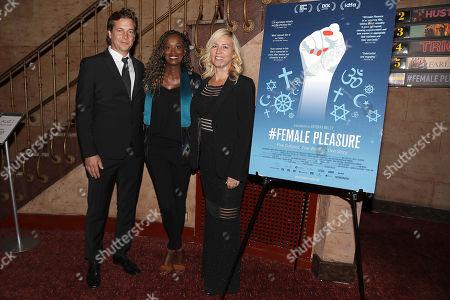 Philip Delaquis (Producer), Leyla Hussein and Barbara Miller (Director)
