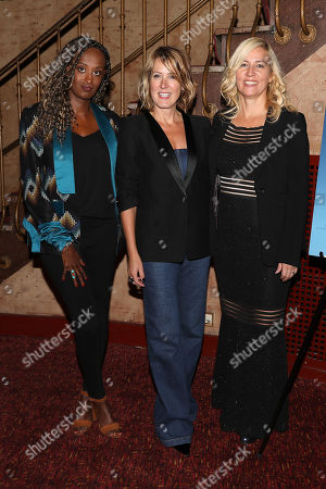 Leyla Hussein, Kathleen Landy (Feminist Press) and Barbara Miller (Director)