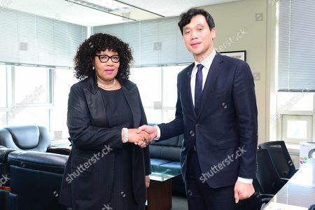 Editorial image of Mandela's daughter appointed as new South African ambassador to South Korea, Seoul - 17 Oct 2019