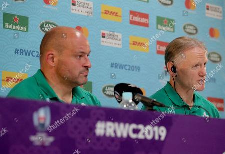 New Zealand All Blacks vs Ireland. Ireland's Head Coach Joe Schmidt during the post-match press conference