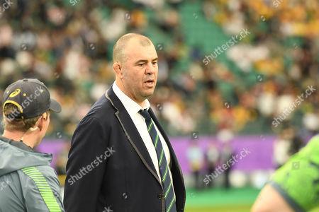 Australia head coach Michael Cheika