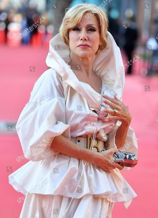 Nancy Brilli arrives for the screening of 'Illuminate-Laura Biagiotti' at the 14th annual Rome Film Festival, in Rome, Italy, 19 October 2019. The film festival runs from 17 to 27 October 2019.